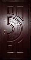 вхідні двері з МДФ
